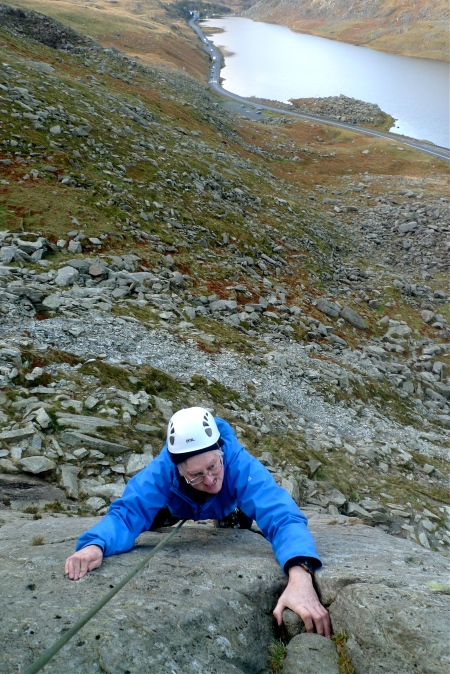 Trying hard on the Milestone Buttress