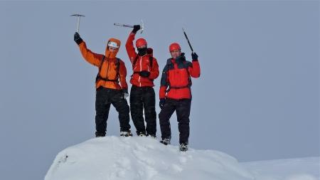 Summit Meall Dubhag