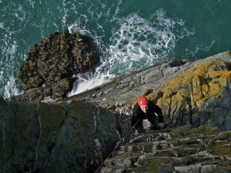 Lighthouse Arete, Castell, Helen, Gogarth