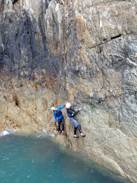 gogarth sea level traverse