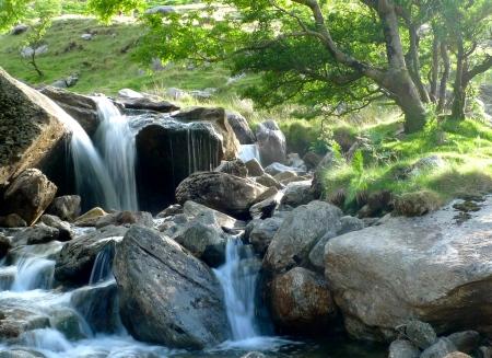 peaceful scenes in the Llanberis Pass